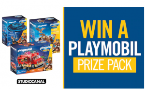 Channel Seven – Win 1 of 2 Playmobil prize packs OR 1 of 3 runner-up prizes of a family pass to see Playmobil