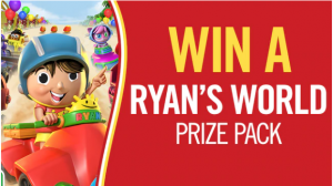 Channel Seven – Win 1 of 3 Ryan's World prize packs valued at $139 each