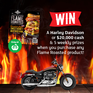 D'Orsogna – Win a Harley Davidson OR $20,000 cash PLUS 1 of 5 weekly prizes