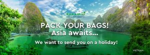 EVA Air – Pack Your Bags – Asia awaits! – Win a major prize of a trip to an EVA Airways Asian destination of your choice OR 1 of 10 minor prizes