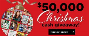 Magshop – Win 1 of 5 cash prizes valued at $10,000 each
