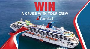Network 10 – Carnival – I'm A Celebrity Get Me Out Of Here – Win an 11-night South Pacific cruise for 4 (flights for 4 included)