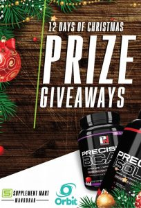 Orbit Fitness Equipment – 12 Days of Christmas Giveaways