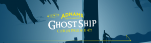 Pinnacle Liquor Group – Ghost Ship – Win 1 of 5 major prizes of a year's worth of Ghost Ship beer OR 1 of 20 minor prizes