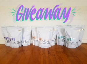SFA – Win 1 of 3 protein prize packs