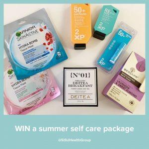 SISU Health Group – Win a summer self-care prize pack