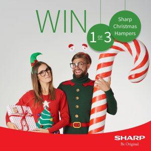 Sharp Australia – Win 1 of 3 Christmas Hampers