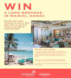 SurfStich – Win a trip for 2 to Waikiki, Hawaii