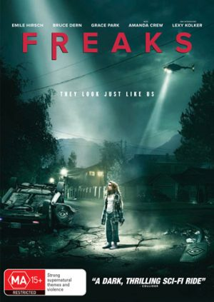Switch – Win 1 of 5 copies of 'Freaks' on DVD