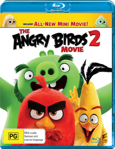Switch – Win 1 of 5 copies of 'The Angry Birds Movie 2' on Blu-ray
