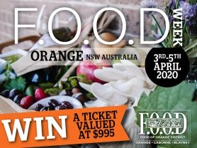 Think Local – Win a 3-day inclusive package aboard FOOD train carriage from Sydney to Orange