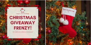 Three Chocolatiers – Win 1 of 5 Christmas Stocking filled with chocolates prizes