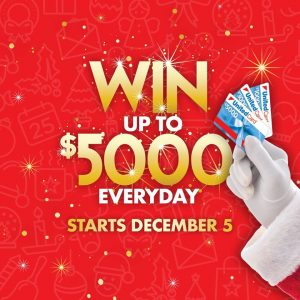 United Petroleum – Win up to $5,000 everyday