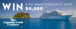Wildiaries – Win a trip for 2 to Nadi, Fiji AND 4-night cruise