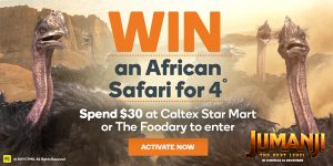 Woolworths Rewards – Win a major prize of an African Safari Adventure for 4 OR 1 of 100 minor prizes