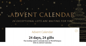 WorldTempus – Advent Calendar – 24 Days of Giveaways – Win 1 of 24 gifts