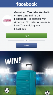 American Tourister Australia & New Zealand – Win a Signed Hot Pink Curio Case Instead