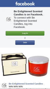 Be Enlightened Scented Candles – a Luxury Candle Valued at $159.99 (prize valued at $159)