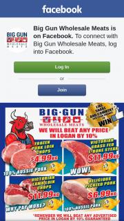 Big Gun Wholesale Meats Underwood – Win $100 Voucher