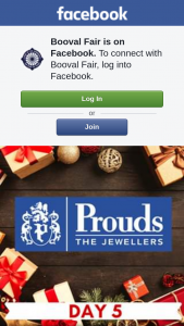Booval Fair – a $50 Prouds Voucher