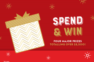 Brackenridge Plaza – Participating Retailers spend any amount Enter in the centre barrell to – Win this Christmas With Bracken Ridge Plaza… (prize valued at $699)