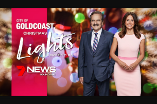 Ch 7 News Gold Coast Vote for your favourite City of Gold Coast Christmas Lights display – Win The Major Prize