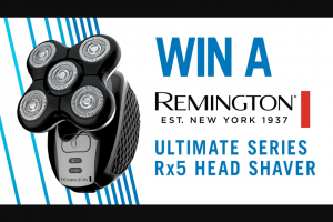 Channel 7 – Sunrise – Win One of Three Remington Ultimate Series Rx5 Head Shavers In this Week's Sunrise Family Newsletter