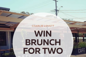 Charlie Lovett – Win Brunch for 2 In Either Syd Or Mel