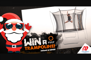 Children's Leukaemia & Cancer Research Foundation Inc – Win this Incredible Ultra Medium Trampoline Valued at $849 Thanks to Our Friends at Vuly (prize valued at $849)