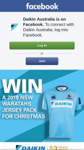 Daikin Australia – Win a Nsw Waratahs Jersey Pack