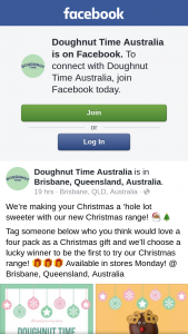 Doughnut Time – to Be The First to Try Our Christmas Range