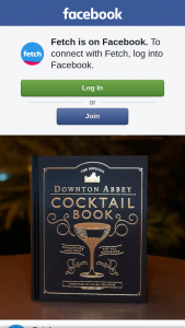 Fetch – Three Copies of The Official Downton Abbey Cocktail Book