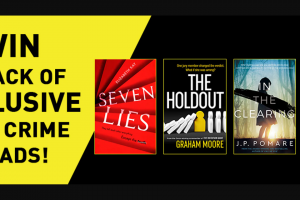 Hachette – Win a Pack of Four Books That Aren't Going to Be In Stores Until 2020.