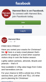 Harvest Box – Win a Whole Box of this Savoury Fave