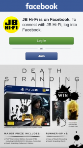 JB HiFi – Win this Amazing Death Stranding Major Prize Pack Or 1 of 3 Runner-Up Prizes (prize valued at $1,185)