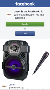Laser – a Portable 8″ Party Speakers ($59 From Big W)