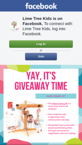 Lime Tree Kids – Win a $1000 Flight Centre Voucher (prize valued at $80)