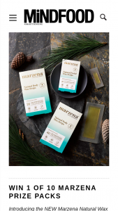 MindFood – Win 1 of 10 Prize Packs (body and Facial Wax Strips) Valued at $22 Each (prize valued at $22)