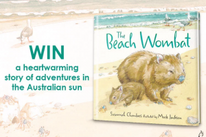 Mouths of Mums – Win 1 of 20 Copies of The Beach Wombat By Susannah Chambers