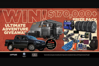 Pat Callinan 4×4 Adventures – Win One Club 4×4 Pty Ltd $1000 Voucher (prize valued at $171,451)