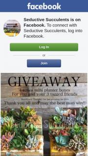 Seductive Succulents – Win this Prize