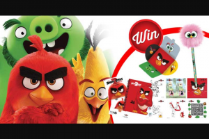 Stack Magazine – Win One of Five Angry Birds 2 Prize Packs
