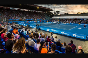 The Advertiser Plusrewards – Exclusive Courtside Seating for You and 7 Friends for The Adelaide International