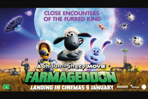 Visit Brisbane – Win a Family Pass to See Shaun The Sheep Movie