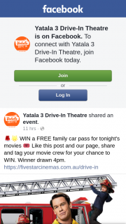 Yatala 3 drive-in theatre – Win a Free Family Car Pass for Tonight's Movies