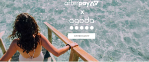 Afterpay – Win 1 of 10 AgodaCash vouchers valued at $500 each