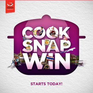 Asian Inspirations – Cook Snap Win – Win 1 of 2 grand prizes of a trip for 2 to Thailand OR 1 of 15 minor prizes