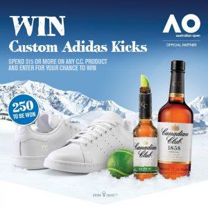 Bottlemart – Win 1 of 250 pairs of personalised Adidas sneakers