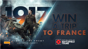 Channel 7 – Sunrise '1917' – Win a trip for 2 to Paris