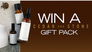 Channel 7 – Sunrise Family Newsletter – Win a Ceder and Stone Luxe gift pack